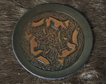 Celtic Fox Patch (3.5in)