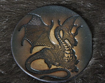 Winged Dragon Patch (3.5in)