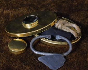 Hudson Bay Company / Fur Trade Era Flint & Steel Kit