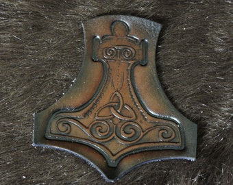 Thor's Hammer Mjolnir Patch (4in)