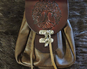 Leather Bushcraft Sporran