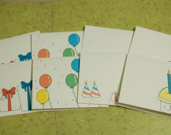 Birthday Collection card set of 8