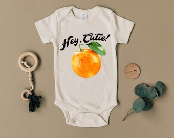 Kinacle I Love Clementine Personalized Baby//Toddler T-Shirt