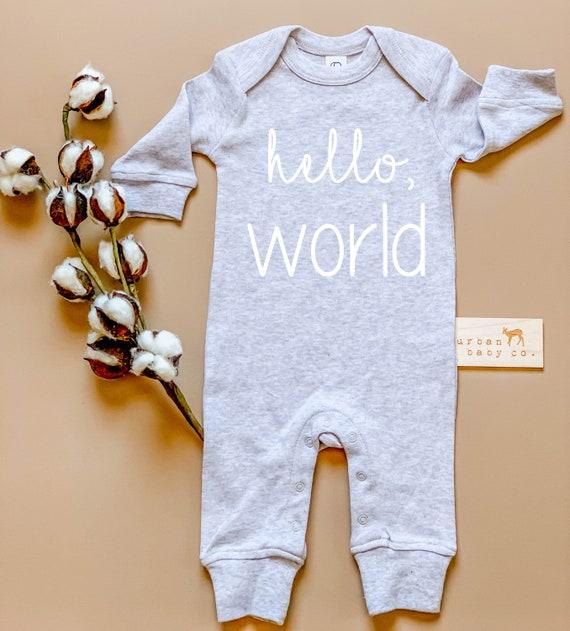 Baby Cotton unisex Newborn bodysuit Long One-piece georgia baby usa state