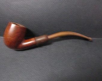 T. V. Meeschaum lined smoking pipe # 262