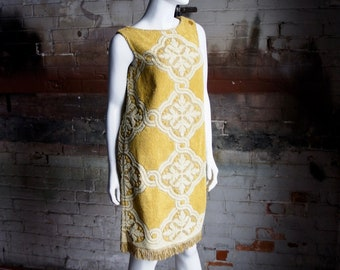 61c87c5a6b TERRY CLOTH Vintage 1960's Cotton Terry Cloth Beach Dress Cover-Up Robe, by  A Royal Robe
