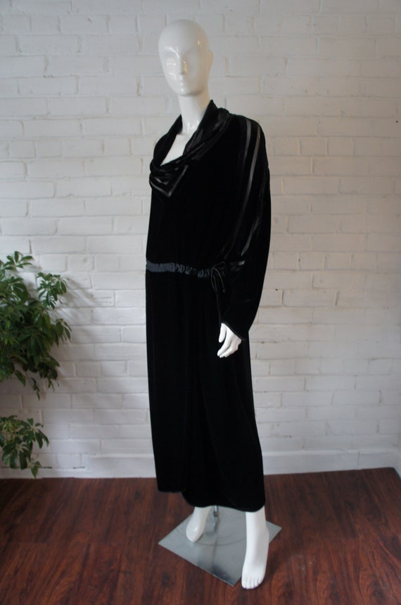 JANICE WAINWRIGHT Vintage 1970's Retro Deco Black