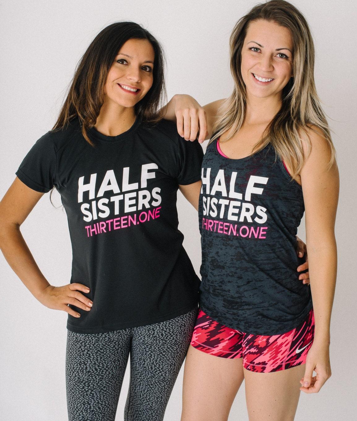 Half Sisters 2 Shirt Bundle Thirteenone Marathon Etsy Tendencies Short Shirts Basic Long Collar Less White Putih M Gift Running Partner