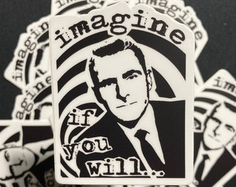 Imagine If You Will Decal