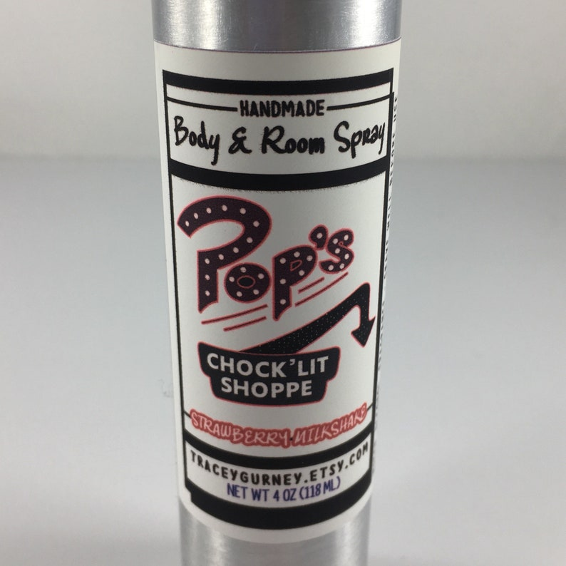 Riverdale Pops Shop Inspired Body Spray image 0