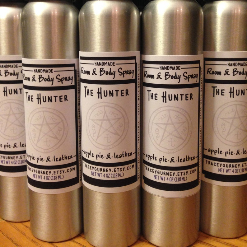 The Hunter Supernatural Inspired Linen Room and Body Spray image 0