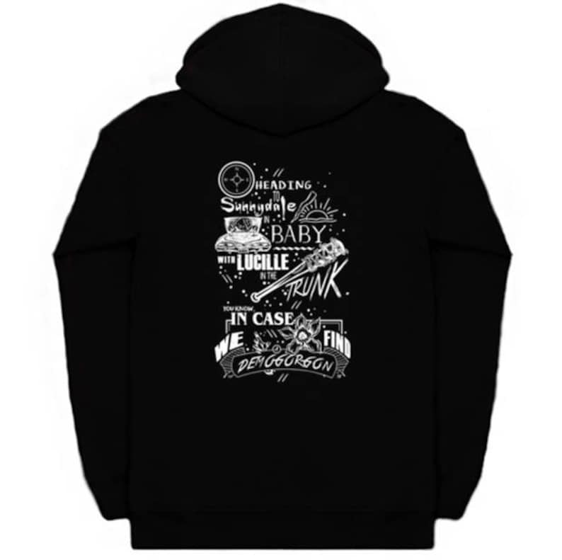 Heading To Sunnydale Quote Hoodie image 0