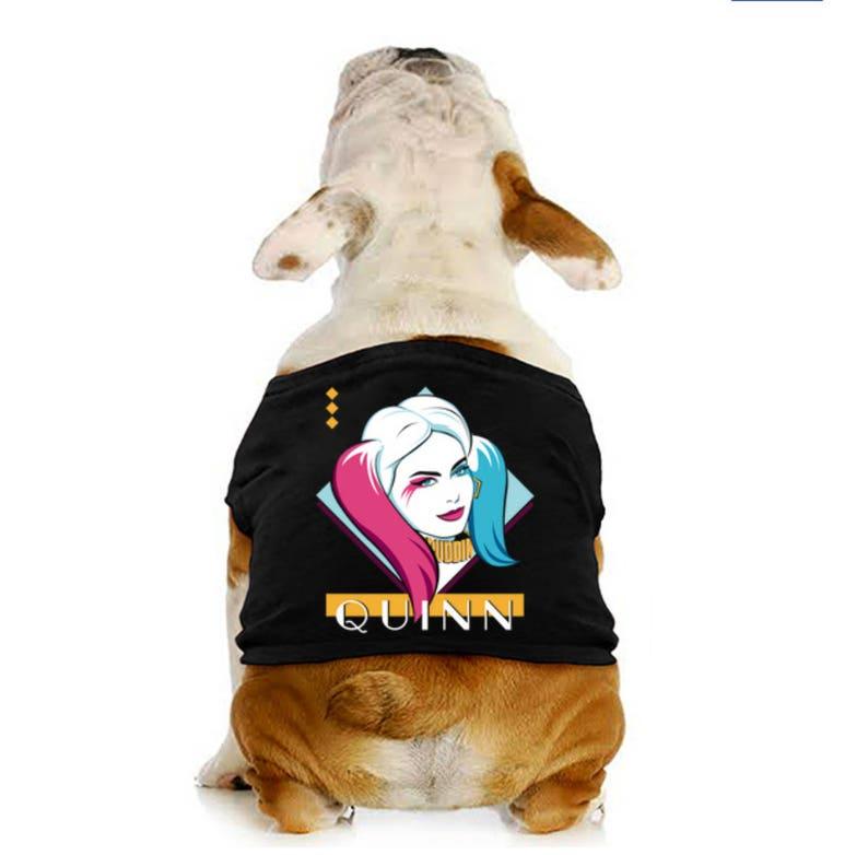 Eighties Quinn Dog Shirt image 0