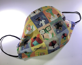 Bug Scientists Reusable Face Mask