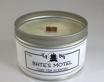 Bate's Motel Inspired Scented Soy Candle