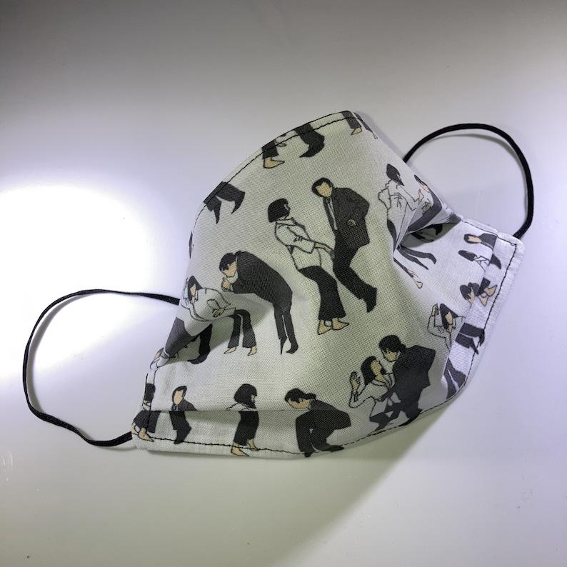 Fiction Dance Moves Reusable Face Mask image 0