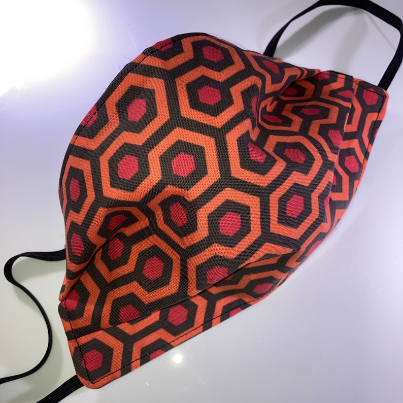 Shining Hotel Carpet Pattern Reusable Face mask Regular