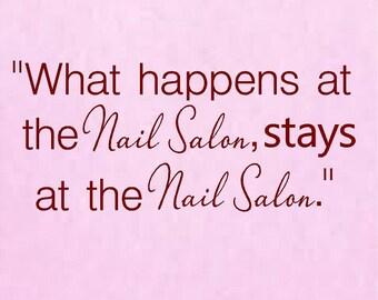 Hair Salon 5h X 23w Vinyl Wall Decal Beauty Salon Etsy