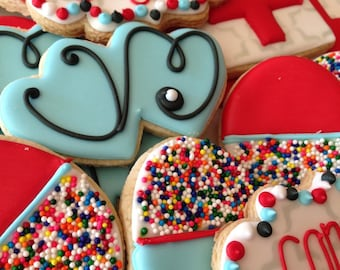 Nurse/ Doctor Decorated Sugar Cookies-1 dozen