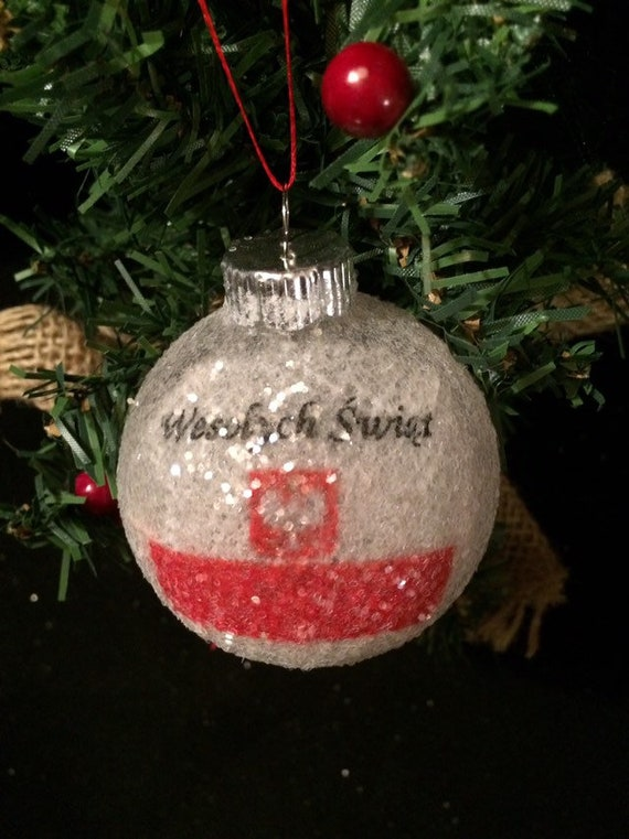 Merry Christmas In Polish.Polish Merry Christmas With Poland Flag Glass Glitter Ornament