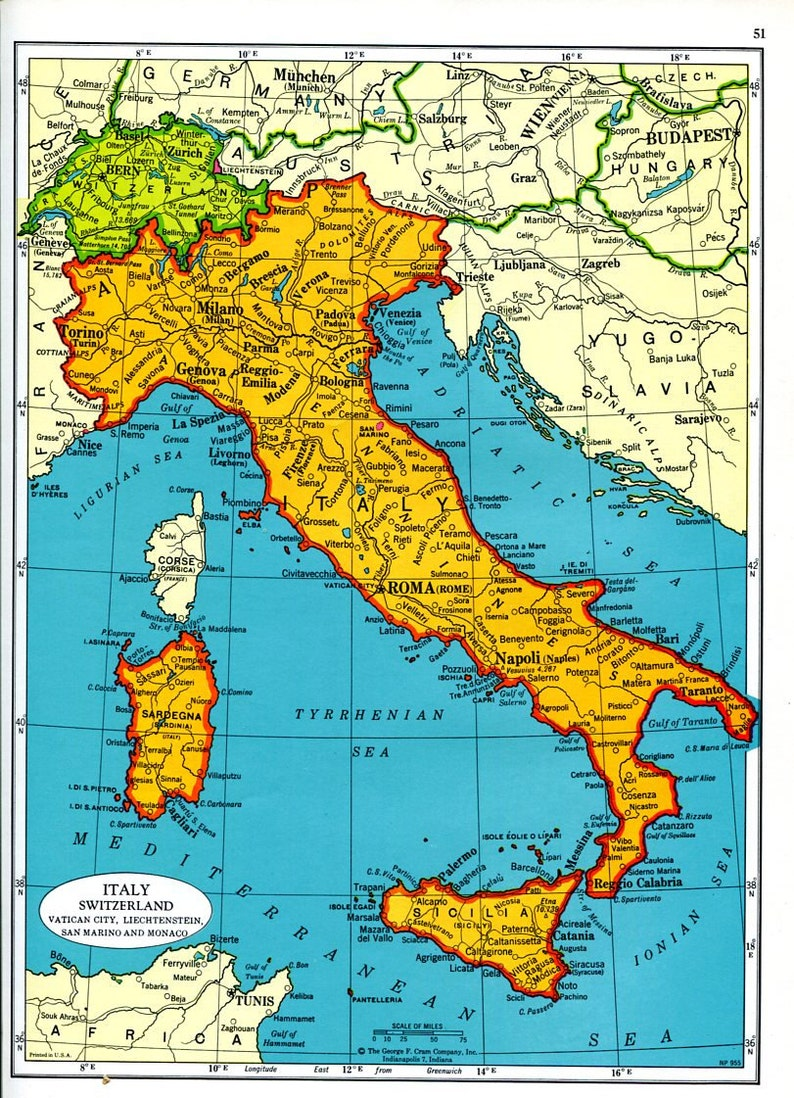 Map Of Italy And Switzerland Map Of Italy And Switzerland