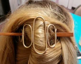 Hair Pin Barrette Workshop at Maine Jewelry and Art, 100 Harlow Street in Bangor Maine