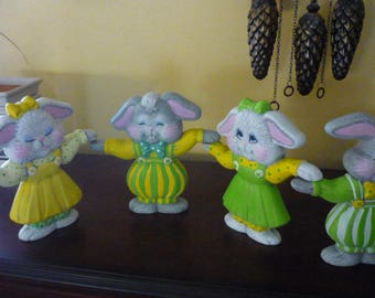 Ready to paint 4 Hand n Hand Bunnies