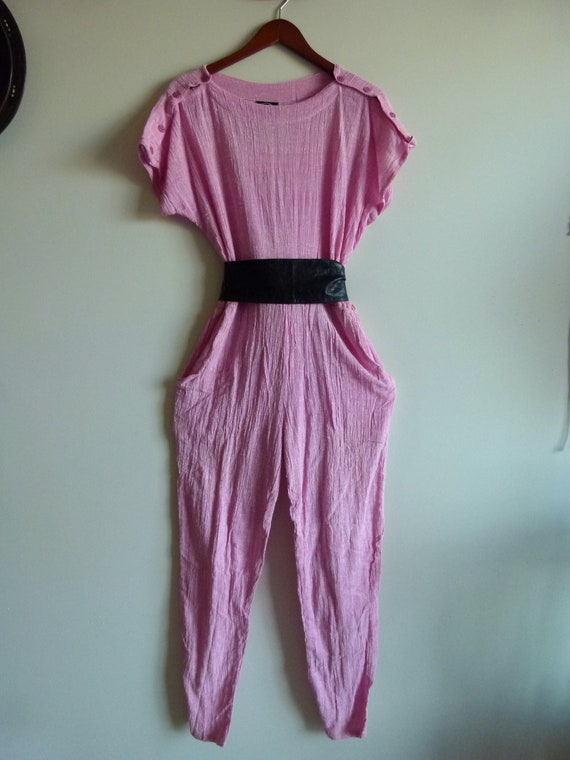 Vtg 80's Deadstock ZODIAC NWT India slouchy Pink c