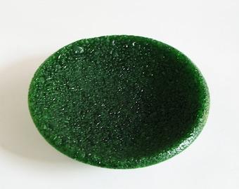 Recycled bottle glass bowl - Heineken
