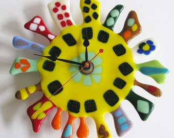 Whimsical kitchen clock collection - Large
