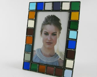 4X6 picture frame - Translucent color glass - Vertical or horizontal