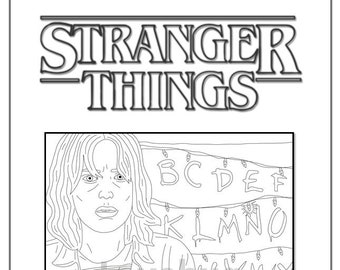 How to draw Eleven   Stranger things 3 - Draw it cute   270x340