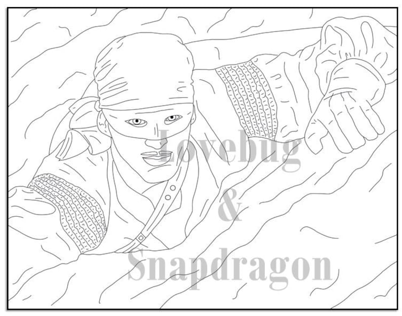 The Princess Bride Coloring Book Instant Printable Digital File Travel Or Rainy Day Activity Art Therapy Coloring Pages Romance