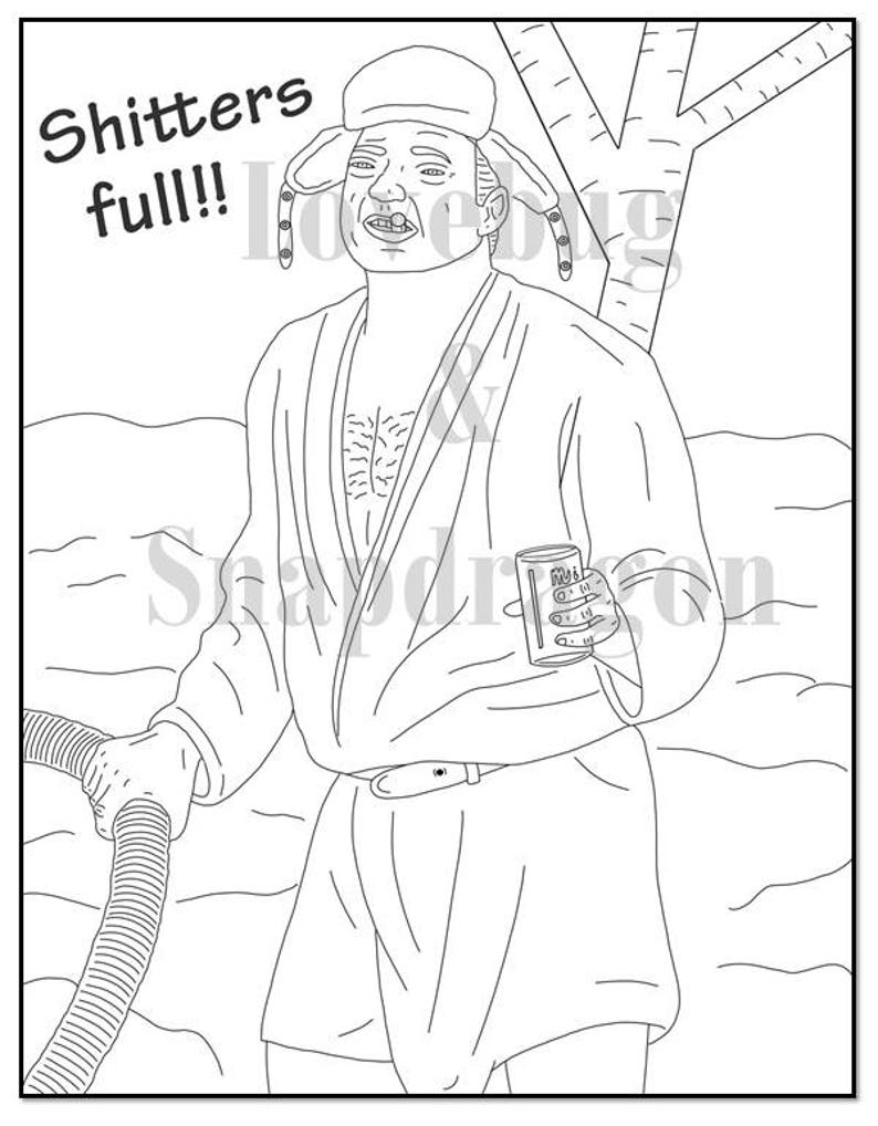 National Lampoon's Christmas Vacation Adult Coloring Book ...