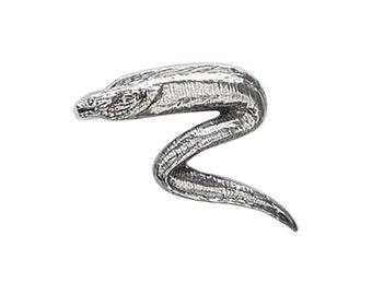 Pewter ~ Moray Eel ~ Lapel Pin/Brooch ~ S102,SC102,SP102