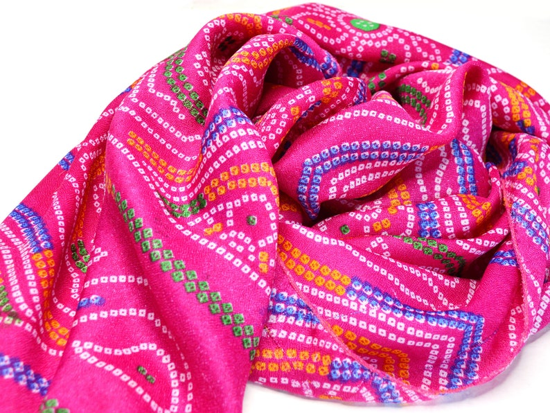pink scarf soft silk scarves medium length accent scarf image 0