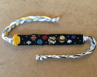 Solar System Friendship Bracelet