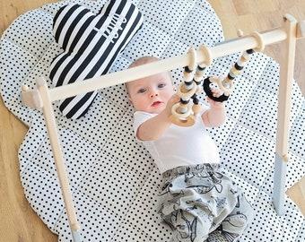 Baby Gym Set | Baby Gym Toys | Baby Gym Set | Wooden Baby Gym | Baby Play Gym | Baby Gift | Baby Shower | Nursery Decor | New Mom Gift