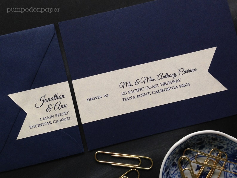 personalized mailing address labels for wedding invitations  image 1