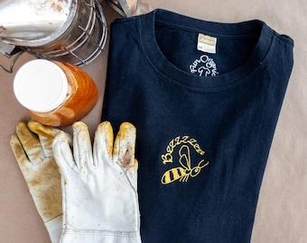 Unisex Organic Black T-Shirt, Short Sleeve, Environmentally Friendly Hemp & Organic Cotton