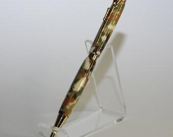 """#29 1 pc Pen Blank Short 3//4/"""" x 2 7//8/"""" to 3 7//8/"""" Desert Camo Acrylic"""