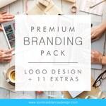 Premium Branding Pack – Logo Design + 11 extras