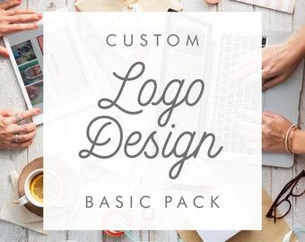 Custom Logo Design (Basic Pack - 1 concept) - Logo Design Package, Custom Logo, Business Logo, Logo Design Service, One-Of-A-Kind Logo