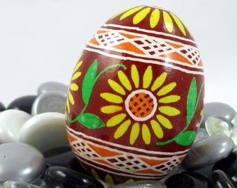 Pysanky, Pisanki, Ukrainian Egg, Polish Easter Egg, Easter Egg, Ukrainian Easter Egg, Pysanky Egg, Ukraine, Ukrainian Gift, Sunflower