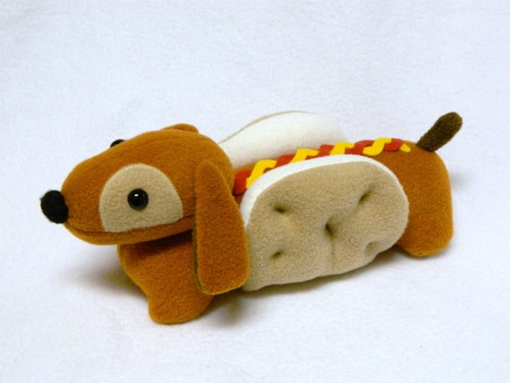 Wiener Dog Plush Toy Animal Etsy