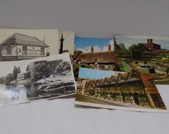 Lot of 1950's Postcards Germany, England, Italy, Paris, Belgium  (Rx-2)