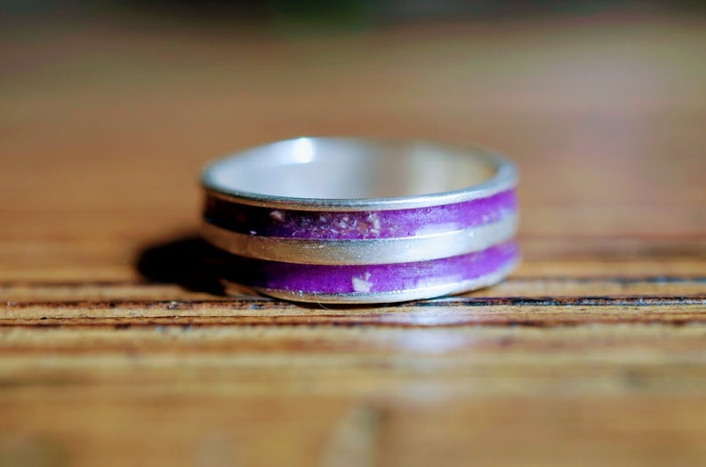 Animal Remembrance Jewelry Loss Of Pet Cremation Ring 925 Silver Yellow Pet Memorial Ring Pet Ashes Chunky Keepsake Ring CHOOSE COLOR