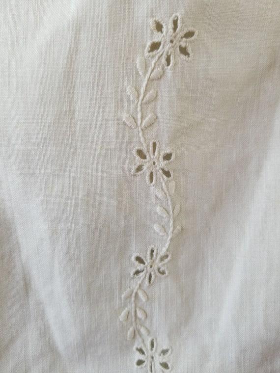 Antique 1900s Edwardian Era Embroidered Skirt / s… - image 9