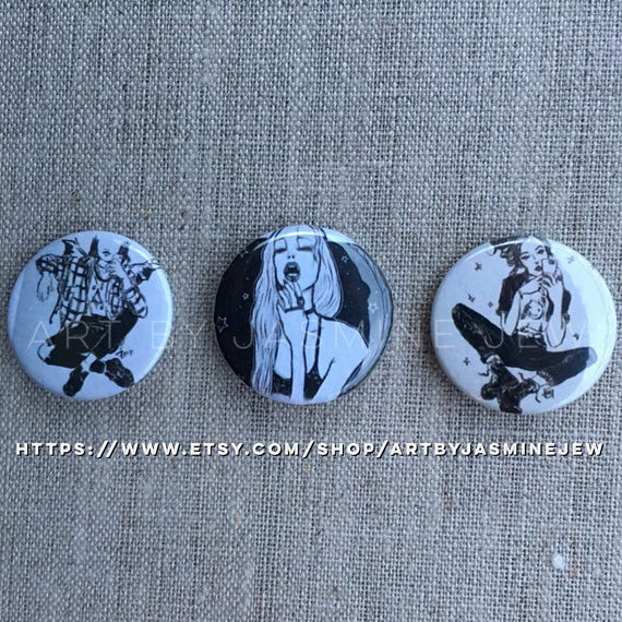 Set of 3 Buttons - Insta set