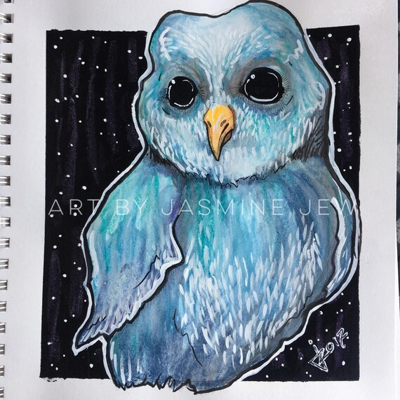 Wicked Owl Print
